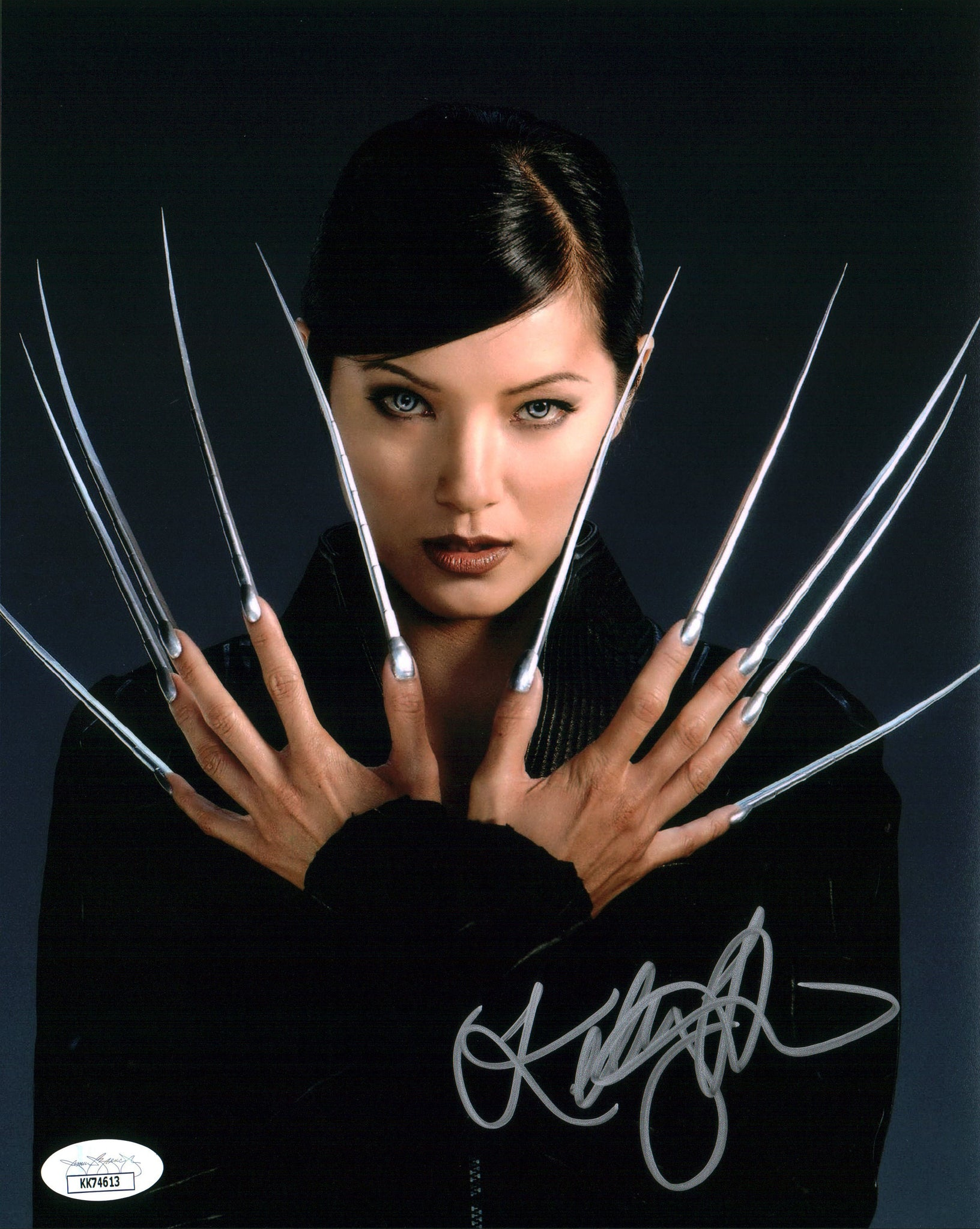 Kelly Hu XMen 8x10 Photo Signed Autograph JSA Certified COA Auto