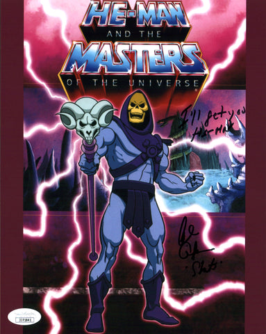 Alan Oppenheimer He-Man and the Masters of the Universe 8x10 Photo Signed Autographed JSA Certified COA