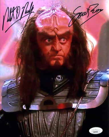Robert O'Reilly Star Trek 8x10 Photo Signed Autograph JSA Certified COA Auto