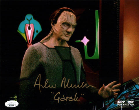 Andrew Robinson Star Trek 8x10 Photo Signed Autograph JSA Certified COA Auto