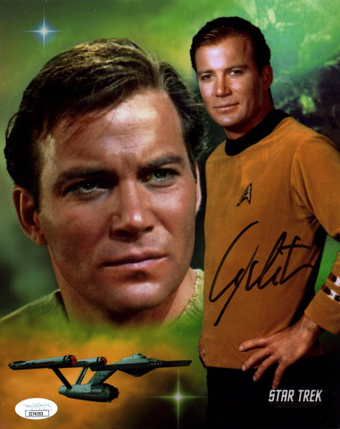 William Shatner Star Trek 8x10 Photo Signed Autograph JSA Certified COA Auto