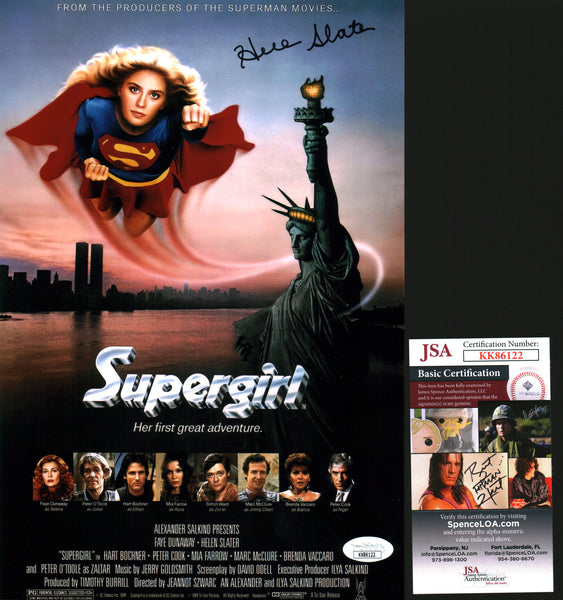 Helen Slater Supergirl 8x12 Photo Signed Autograph JSA Certified COA Auto