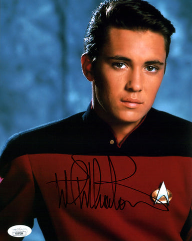 Wil Wheaton Star Trek 8x10 Photo Signed Autograph JSA Certified COA Auto