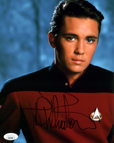 Wil Wheaton Star Trek 8x10 Photo Signed Autographed JSA Certified COA