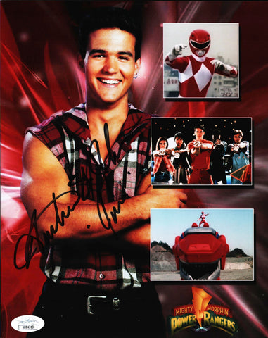 Power Rangers 8x10 Photo JSA Certified COA Signed by Austin St John GalaxyCon
