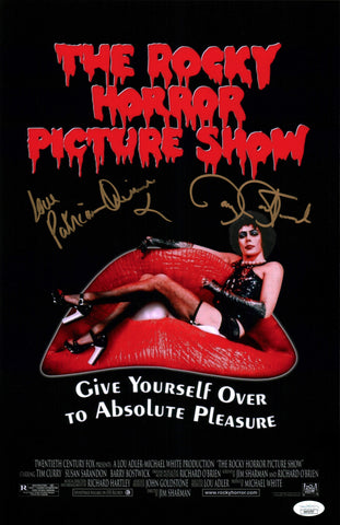 RHPS 11x17 Photo Poster Signed Autograph Bostwick Quinn JSA Certified COA Auto GalaxyCon