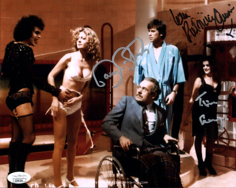 RHPS 8x10 Photo Signed Autograph Curry Bostwick Quinn JSA Certified COA GalaxyCon