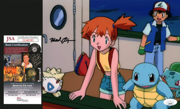 Rachael Lillis Pokemon 8x10 Photo Signed Autograph JSA Certified COA Auto GalaxyCon