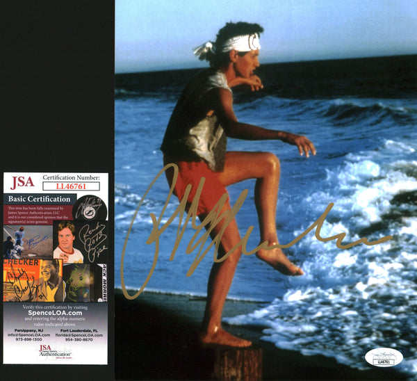Ralph Macchio Karate Kid 8x10 Photo Signed Autographed JSA Certified COA Auto GalaxyCon