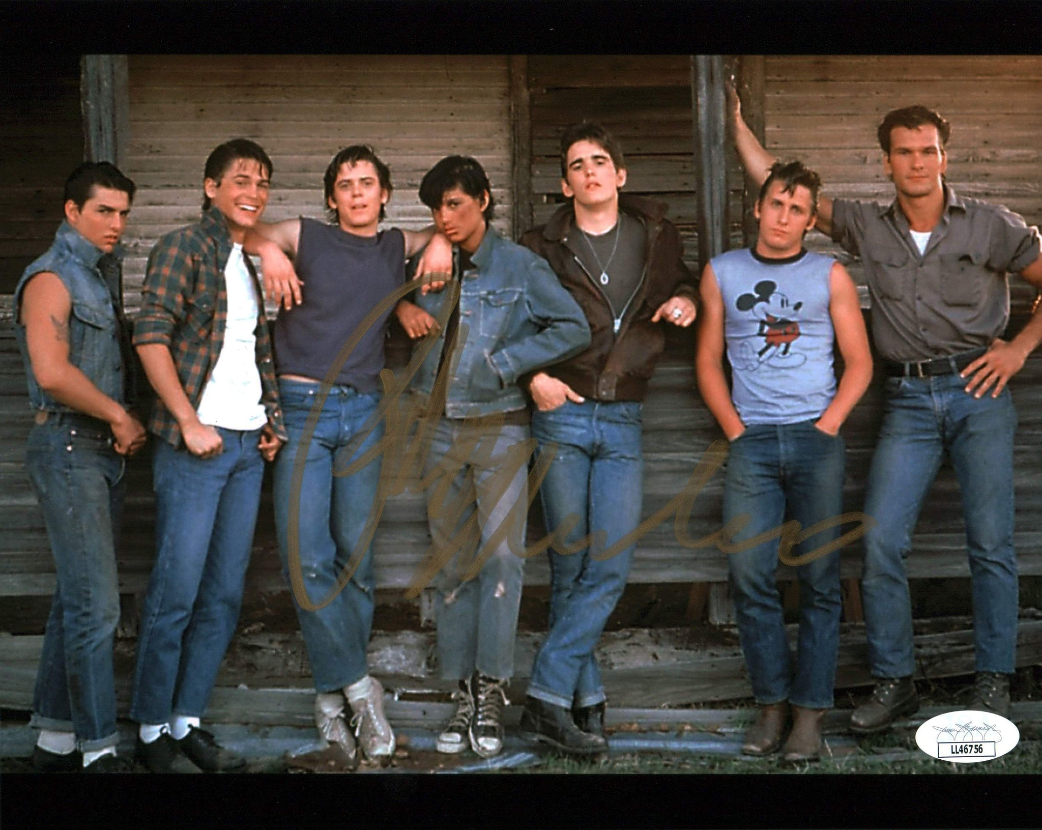 Ralph Macchio The Outsiders 8x10 Photo Signed Autographed JSA Certified COA Auto GalaxyCon