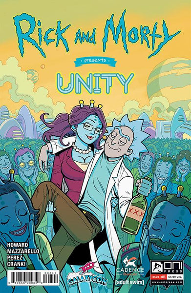Rick & Morty Unity GalaxyCon Exclusive Variant Issue #1 GalaxyCon