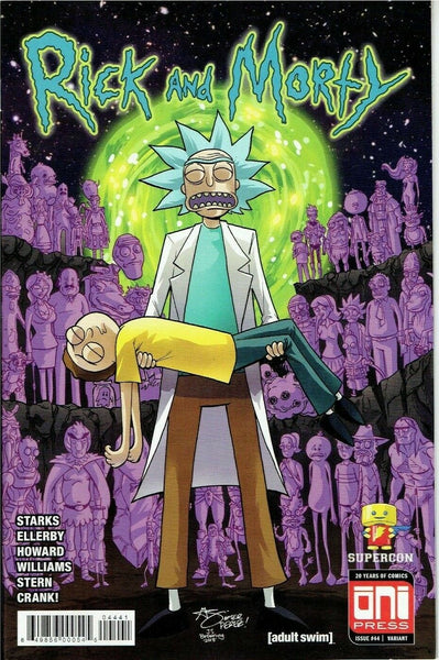 Rick and Morty #44 SuperCon Crisis Variant Cover GalaxyCon