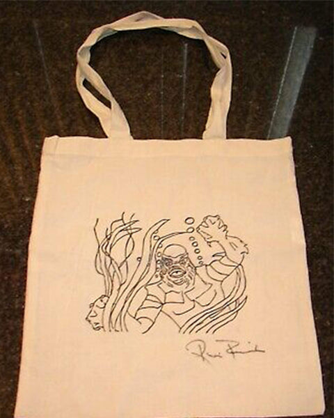 Ricou Browning: Creature From The Black Lagoon Tote Bag, January 30th Ricou Browning