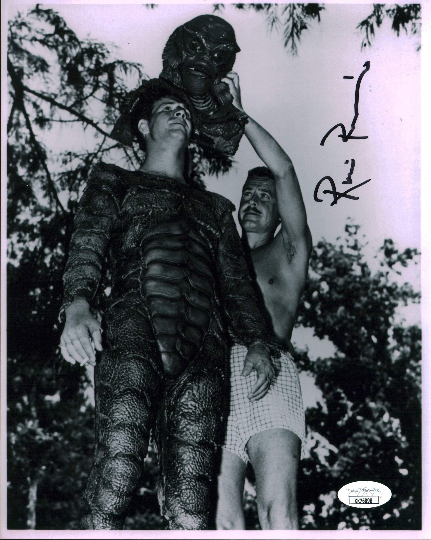 Ricou Browning Creature From the Black Lagoon 8x10 Photo Signed Autographed JSA Certified COA GalaxyCon