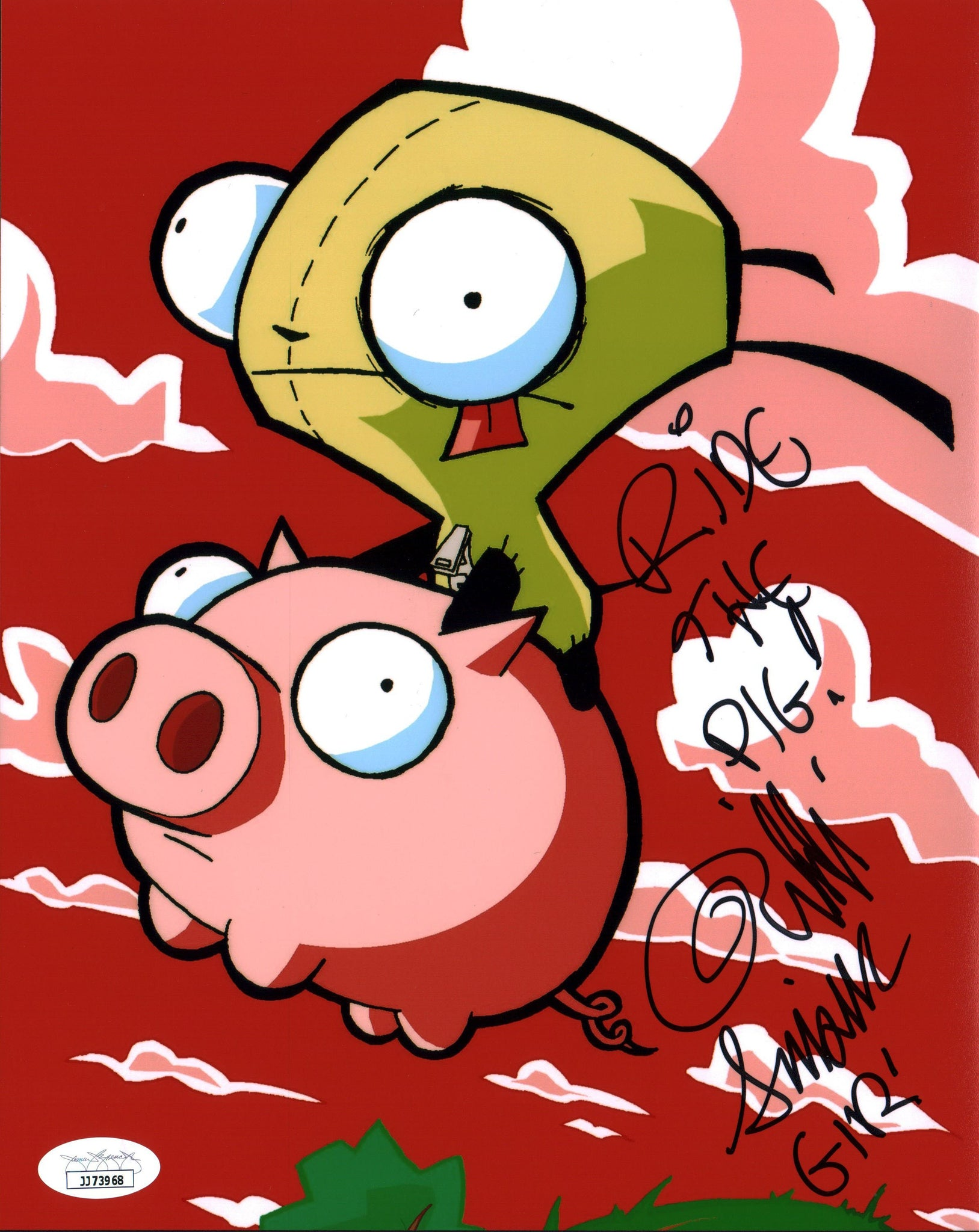Rikki Simons Invader Zim 8x10 Photo Signed Autographed JSA Certified COA Auto GalaxyCon