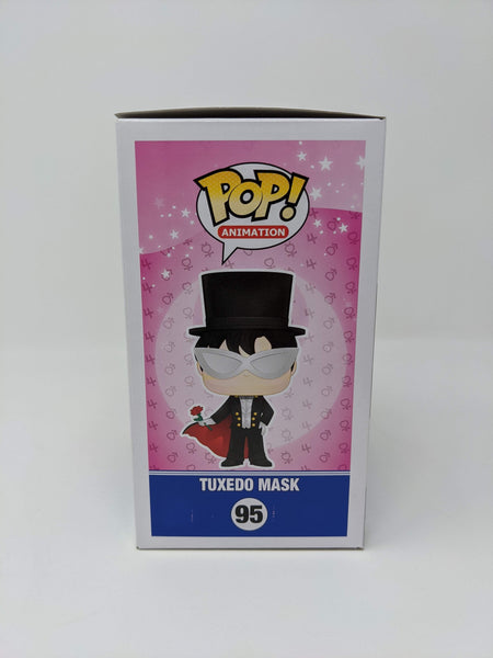 Robbie Daymond Sailor Moon Tuxedo Mask #95 Signed JSA Funko Pop Auto GalaxyCon