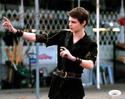 Robbie Kay Once Upon a Time 8x10 Photo Signed Autograph JSA Certified COA Auto GalaxyCon
