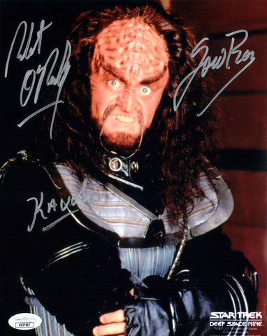 Robert O'Reilly Star Trek 8x10 Photo Signed Autographed JSA Certified COA GalaxyCon