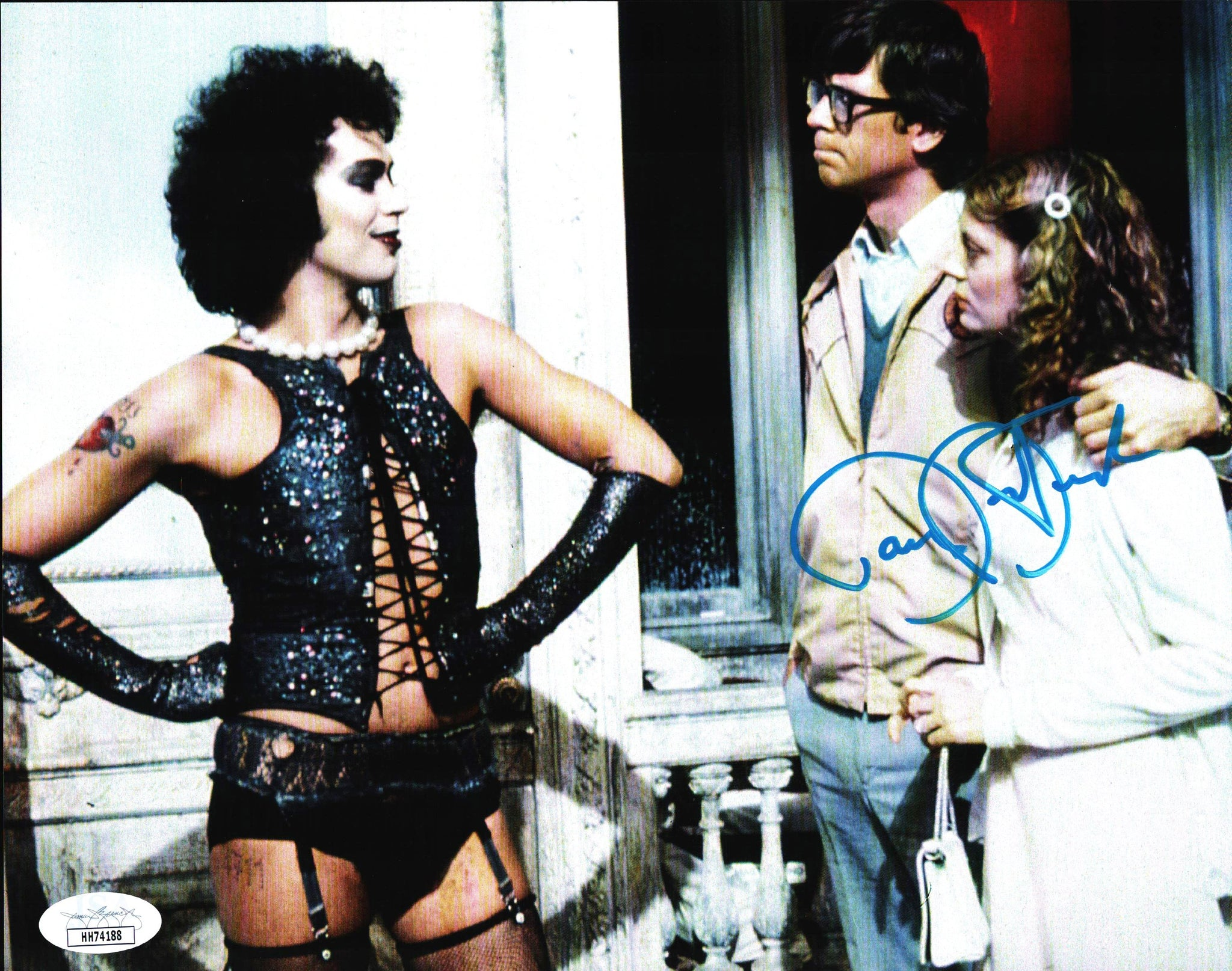 Rocky Horror Picture Show 8x10 Photo JSA Certified COA Signed by Barry Bostwick GalaxyCon