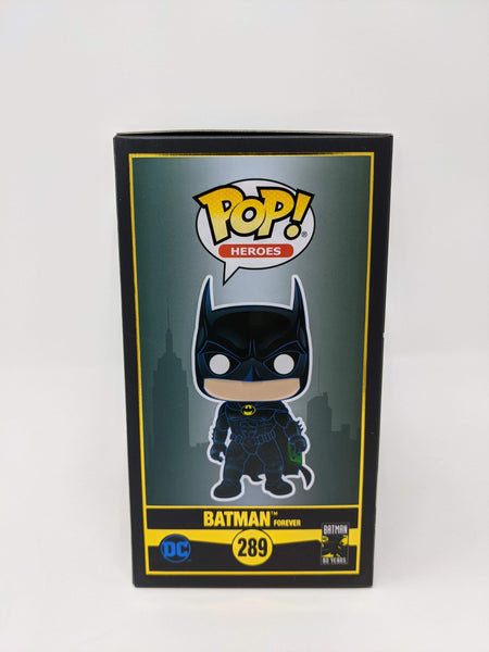 Roger Craig Smith DC Batman Forever #289 Exclusive Signed JSA Funko Pop Auto GalaxyCon
