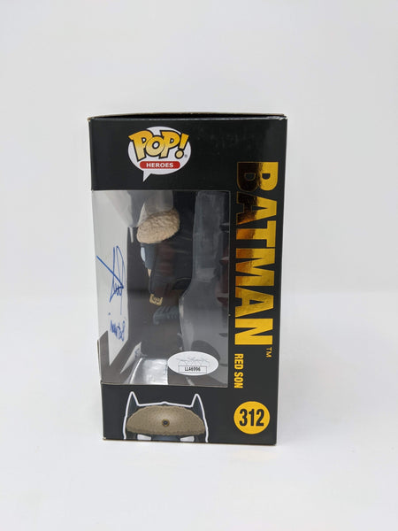 Roger Craig Smith DC Batman Red Son #312 Exclusive Signed JSA Funko Pop Auto GalaxyCon