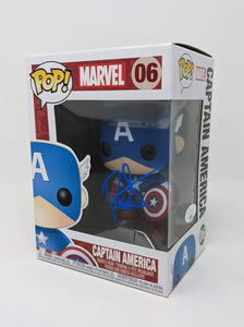 Roger Craig Smith Marvel Captain America #06 Signed JSA Funko Pop Auto GalaxyCon