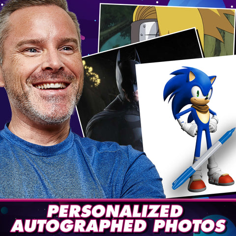 Roger Craig Smith: Personalized Autograph Signing on Photos
