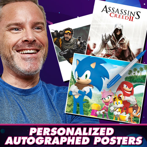 Roger Craig Smith: Personalized Autograph Signing on Mini Posters