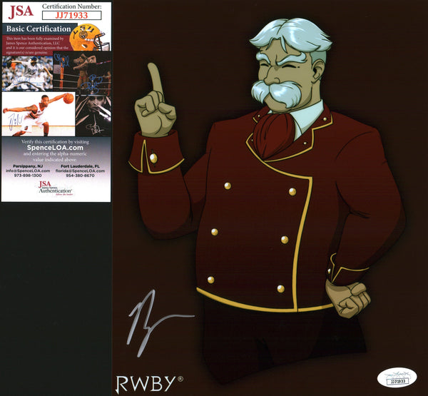 Ryan Haywood RWBY 8x10 Photo Signed Autographed JSA Certified COA GalaxyCon