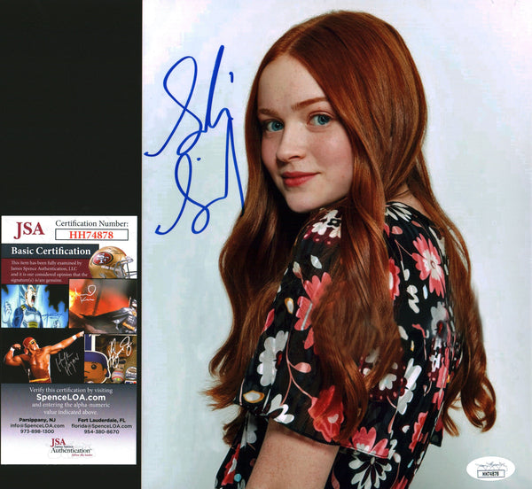 Sadie Sink 8x10 Photo Signed Autographed JSA Certified COA GalaxyCon