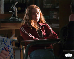 Sadie Sink Stranger Things 8x10 Photo Signed Autographed JSA Certified COA GalaxyCon