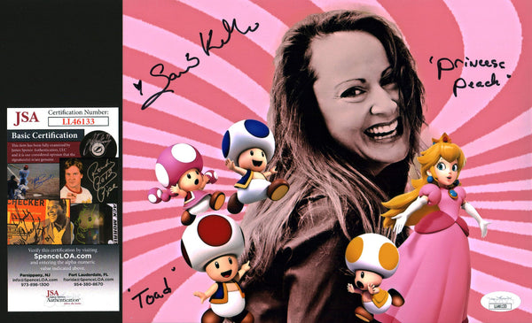 Samantha Kelly Super Mario 8x10 Photo Signed Autograph JSA Certified COA Auto GalaxyCon