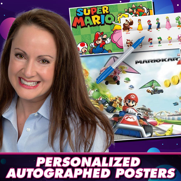 Samantha Kelly: Personalized Autograph Signing on Mini Posters, February 13th