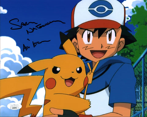 Sarah Natochenny Pokemon 8x10 Photo Signed Autograph JSA Certified COA Auto GalaxyCon