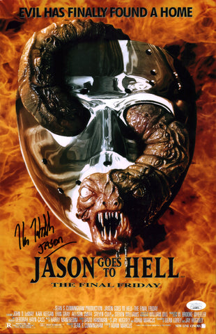Kane Hodder Friday the 13th 11x17 Photo Poster Signed Autographed JSA Certified COA Auto