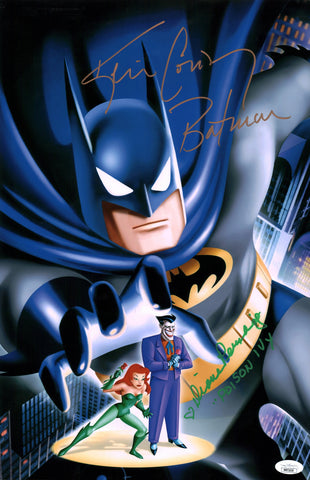 Batman 11x17 Photo Poster Signed Autograph Conroy Pershing JSA Certified COA Auto