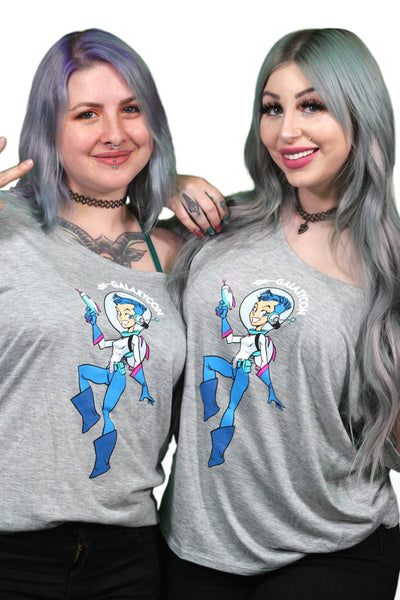 Scoop Neck Women's Tee GalaxyCon