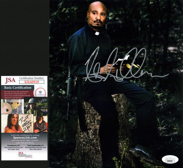 Seth Gilliam The Walking Dead 8x10 Photo Signed Autograph JSA Certified COA Auto GalaxyCon