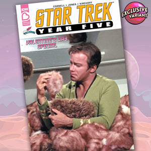 Star Trek: Year Five Valentines Day Special Exclusive GalaxyCon Photo Cover Variant GalaxyCon
