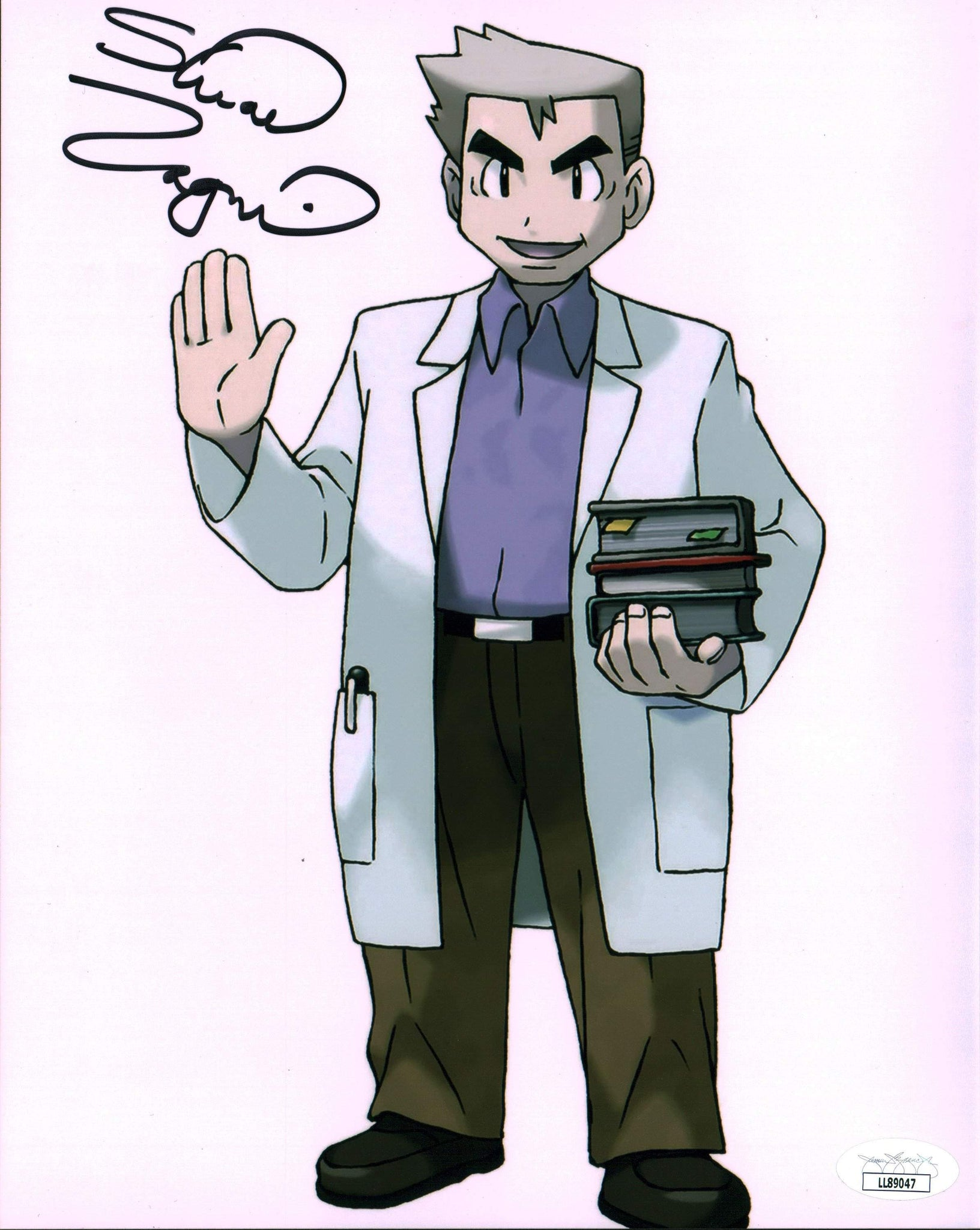 Stuart Zagnit Pokemon 8x10 Photo Signed Autograph JSA Certified COA Auto GalaxyCon