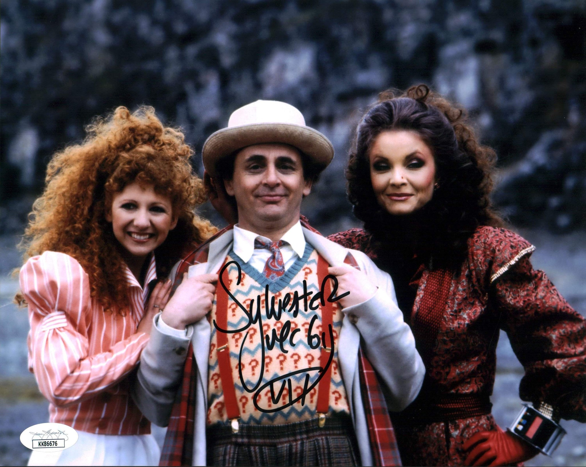 Sylvester McCoy Doctor Who 8x10 Photo Signed Autograph JSA Certified COA Auto GalaxyCon