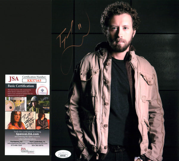 TJ Thyne Bones 8x10 Photo Signed Autograph JSA Certified COA Auto GalaxyCon