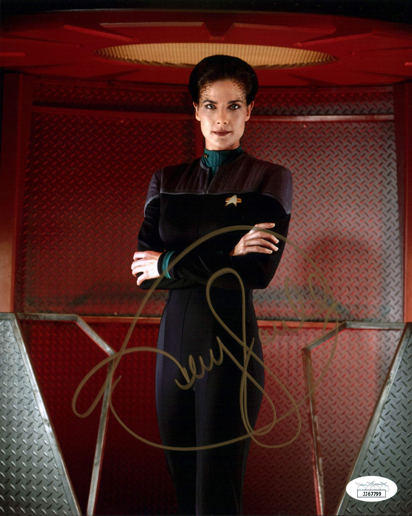 Terry Farrell Star Trek 8x10 Photo Signed Autograph JSA Certified COA Auto GalaxyCon