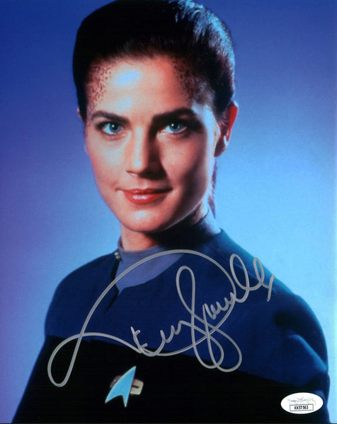 Terry Farrell Star Trek 8x10 Photo Signed Autographed JSA Certified COA GalaxyCon