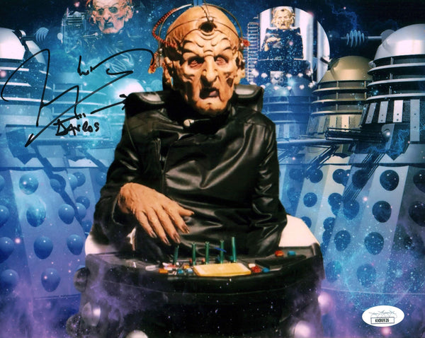 Terry Molloy Doctor Who 8x10 Photo Signed Autograph JSA Certified COA Auto GalaxyCon
