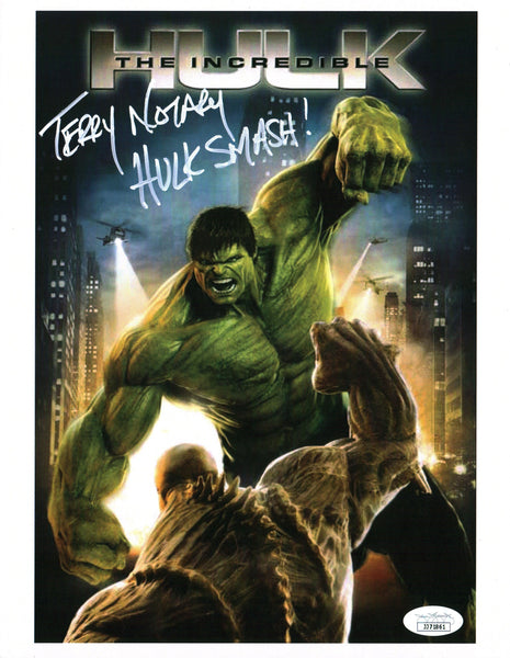 Terry Notary The Incredible Hulk 8x10 Photo Signed Autographed JSA Certified COA GalaxyCon