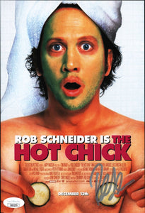 The Hot Chick 8x10 Photo JSA Certified COA Signed by Rob Schneider GalaxyCon