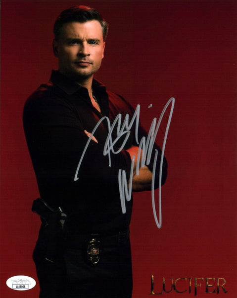 Tom Welling Lucifer 8x10 Photo Signed Autographed JSA Certified COA Auto GalaxyCon