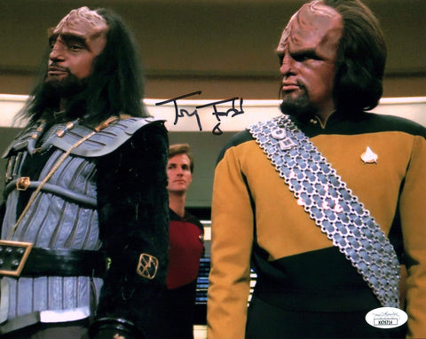 Tony Todd Star Trek 8x10 Photo Signed Autograph JSA Certified COA Auto GalaxyCon