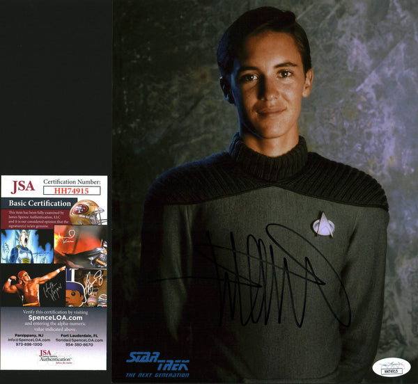 Wil Wheaton Star Trek 8x10 Photo Signed Autographed JSA Certified COA GalaxyCon